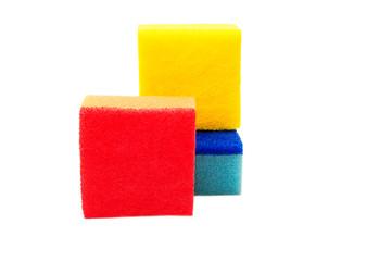 colourful sponge