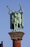 statue viking poster