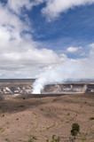 Halemaumau Crater of the Kilaeua volcano, Big Island, Hawaii