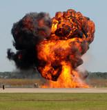 Giant explosion