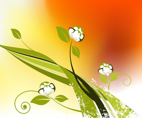 Unlimited Floral Background