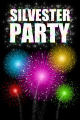 plakat silvester-party II