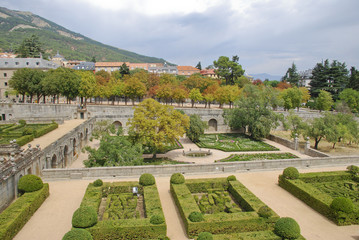 Garden of Royal Monastery of San Lorenzo de El Escorial