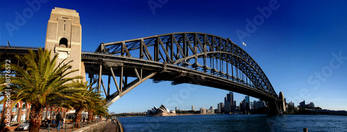 Sydney Harbour Bridge PanoramaColour