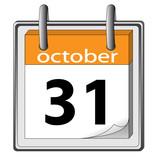 Halloween. 31 October poster