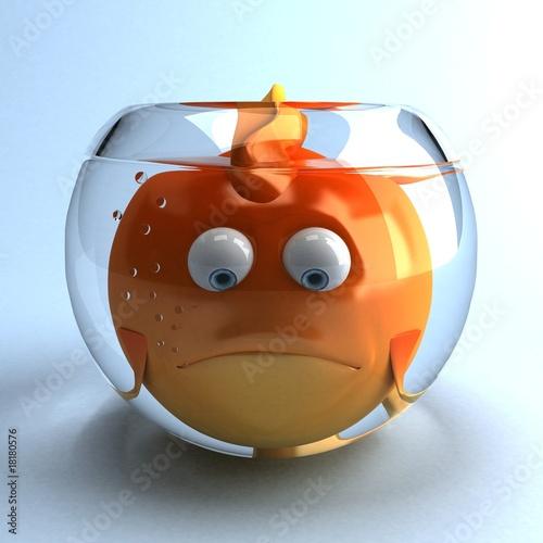 Gros poisson rouge photo libre de droits sur la banque d for Poisson rouge gros yeux