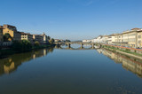 Firenze fiume Arno poster