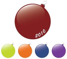 New Year's balls