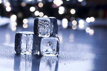 Cool and  ice