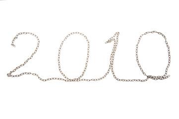 "Chain inscription ""2010"""