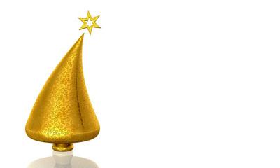 Christmas Tree Gold Dekor