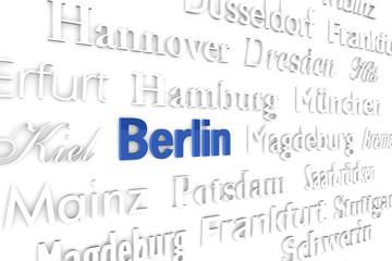 Berlin Schriftwand