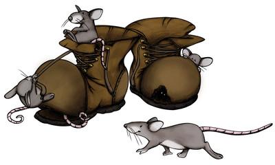 Umzug, Wohnung, Neubau, Altbau, Haus, Mäuse, Ratte