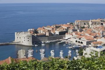 Coastal town of Dubrovnik, Dalmatia