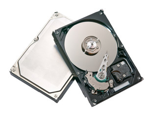 Closeup hard drive