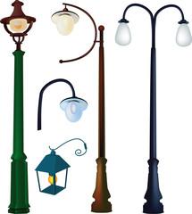 collection street lanterns