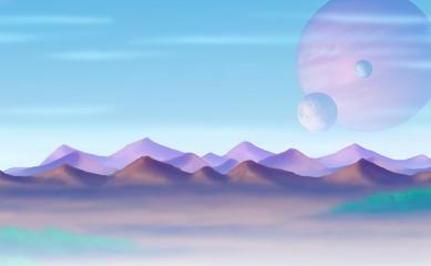 Planetenaufgang