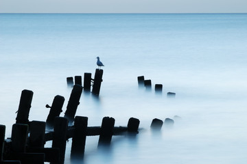 Calm Sea, Norfolk / Suffolk Border