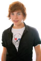 Junge mit Hemd