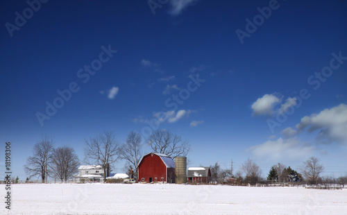 Winter landscape - 18198306