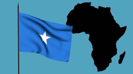 Africa  bandiera della Somalia