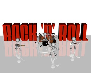 rock n' roll band
