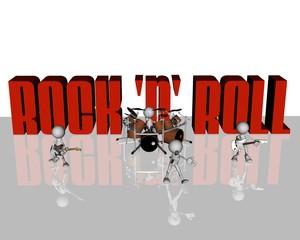 rock n' roll band