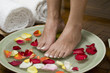 Relaxing aromatherapy spa for feet 4