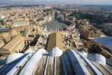 Saint Peter Square. Rome. Vatican poster