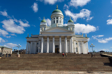 The Lutheran Cathedral in Helsinki, Finland