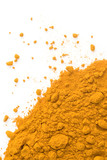 The powder of the dried up roots is known as spice Curcuma poster