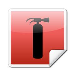 Etiqueta extintor