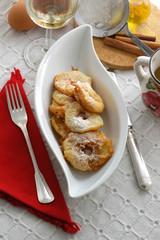 Frittelle di mele - Apfelkuchl Dolci del Trentino Alto Adige