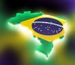 Map the Brazil