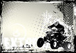 Постер, плакат: motorsport grunge background