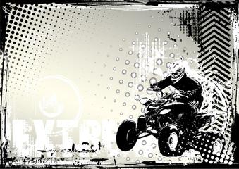 motorsport grunge background