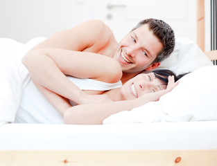 bed couple