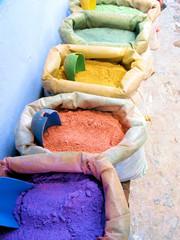 Farbpigmente Bunt