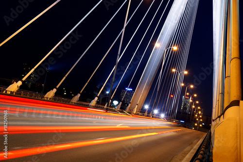 Zdjęcia na płótnie, fototapety na wymiar, obrazy na ścianę : bridge at night