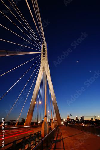 Zdjęcia na płótnie, fototapety, obrazy : Warsaw at night