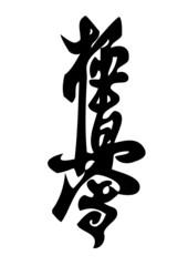 KARATE kyokushinkai SIMBOL