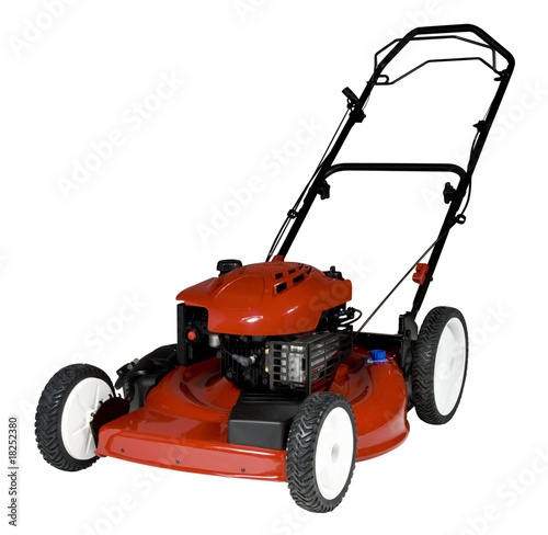 Lawnmower Isolated - 18252380