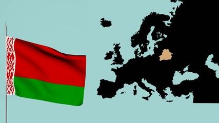 bandiera Europa, Bielorussia