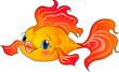 Cartoon gold fish