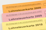 Lohnsteuer poster