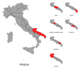 Puglia e province
