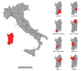 Sardegna e province