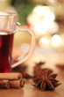 hot wine punch and star anise