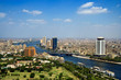 Top of Cairo from tv tower, Panorama - Egypt - 18267551