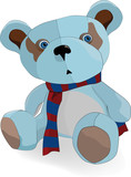 favorite toy a kind sad bear poster